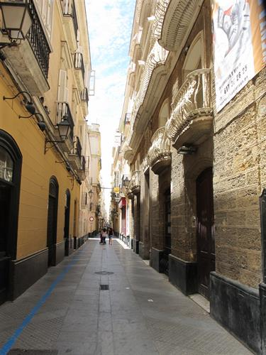 Tipical street in Barrio San Carlos
