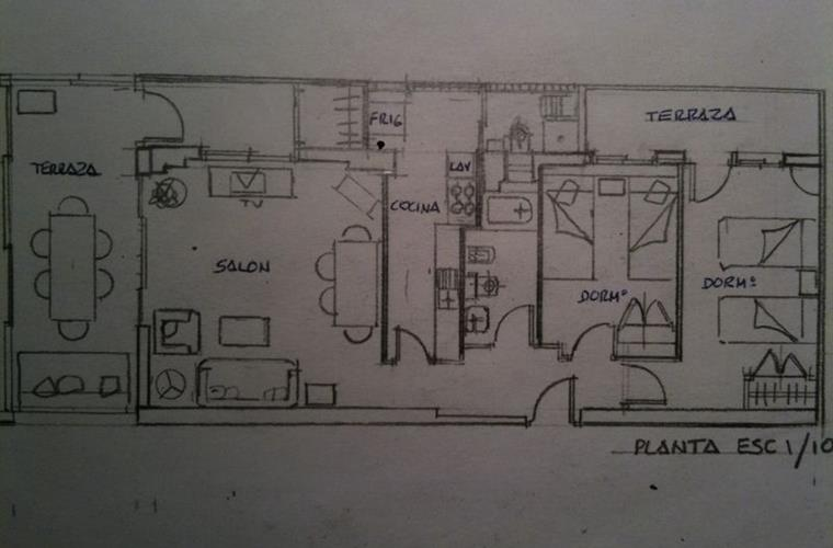 drawing apartment.
