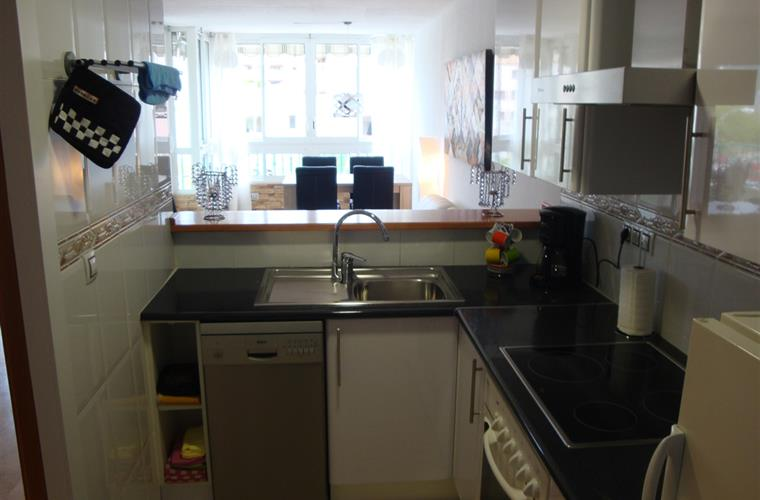 Fully equipped kitchen incl.  dishwasher
