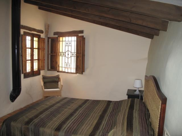 One of the two double rooms