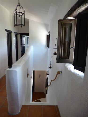 Corridor and stairs