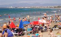 beach of Cambrils