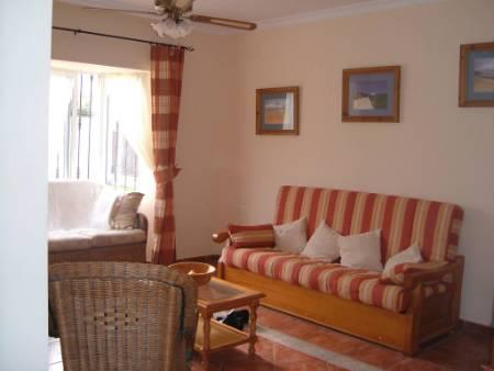 living room with double bed/setee
