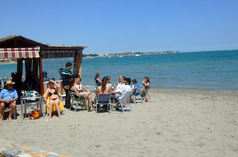 Relax take in some sun with some tapas and a refreshment