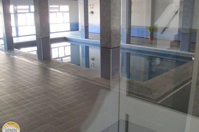During the winter months there is a heated indoor swimming pool to