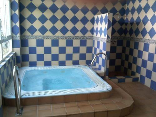 During the winter months there is also a jacuzzi for our guests