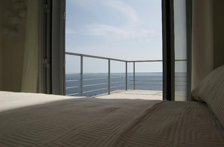 All bedrooms have terraces and sea views