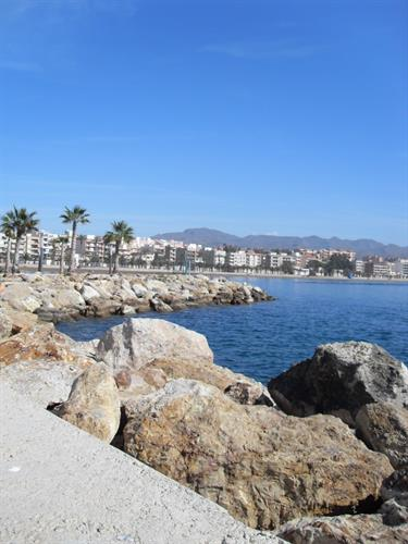 View at Puerto de Mazarron