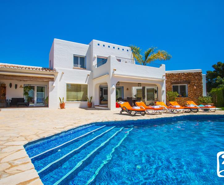 Holiday villa for rent in Moraira (Alcazar) - Moraira vacation villa  16860