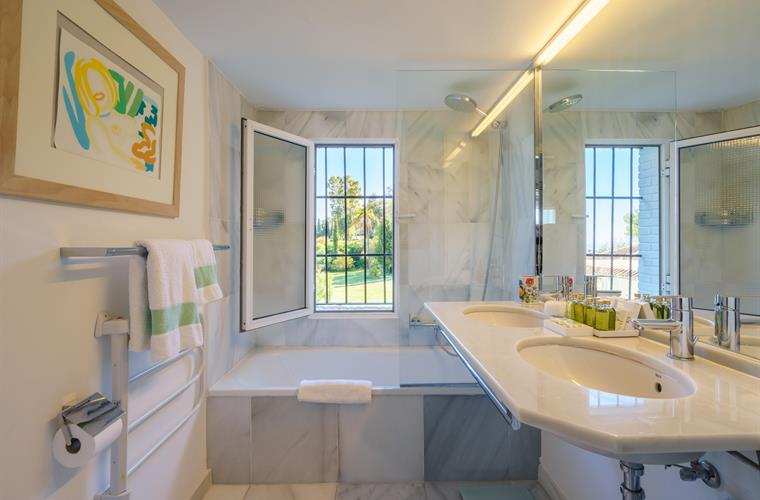 The Garden View Bathroom