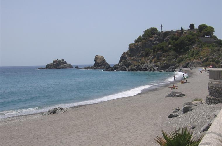 beach in Almunecar