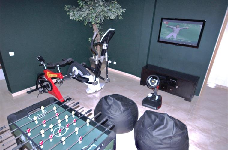 Games/exercise room