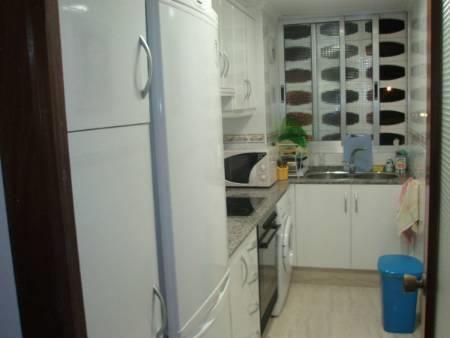 new fully refurbished kitchen with fridge-freezer, washing machine
