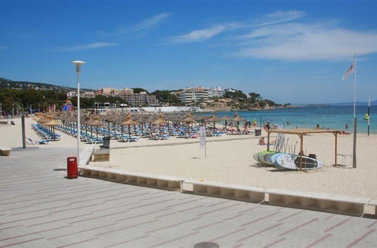 Magaluf beach west end Nikki beach