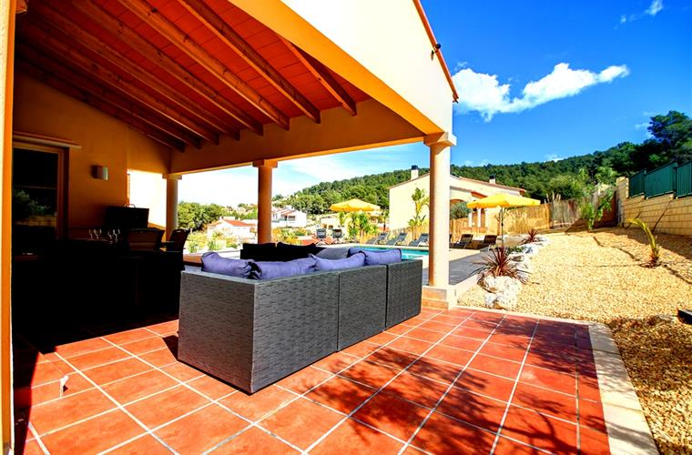 Holiday villa for rent in j vea valsol j vea vacation for Outdoor furniture javea
