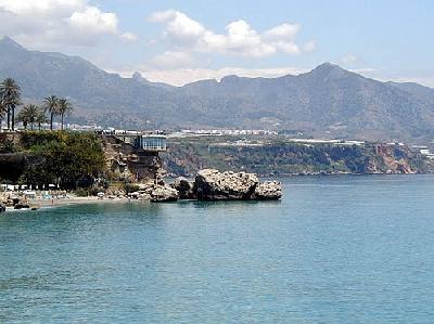 View of Nerja seafront