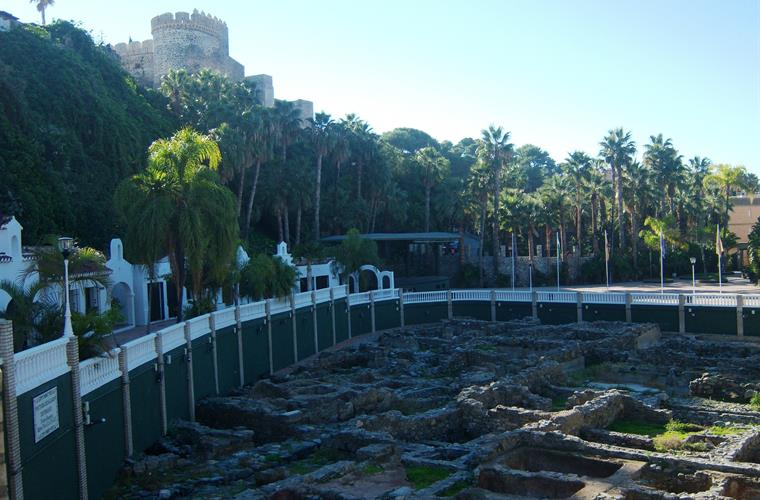 The former fish factory of the Phoenicians in the Park El Majuelo