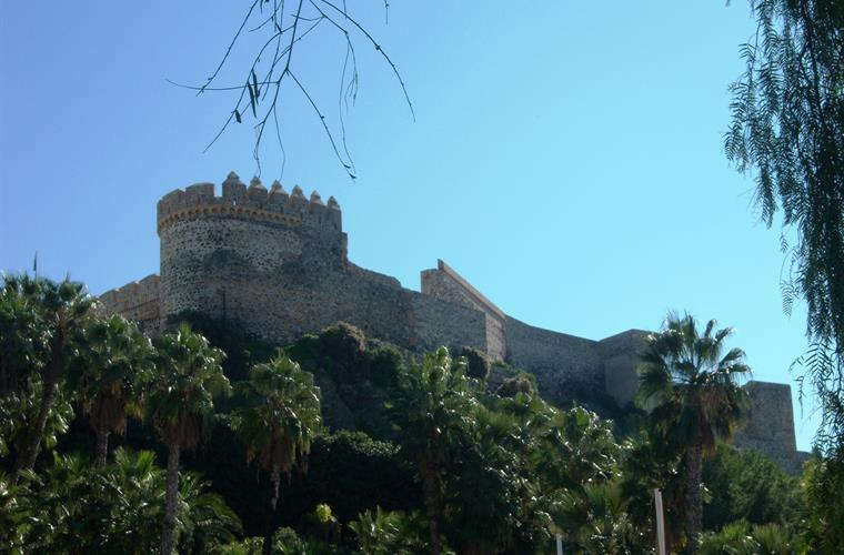 The San Miguel Castle in Almunecar