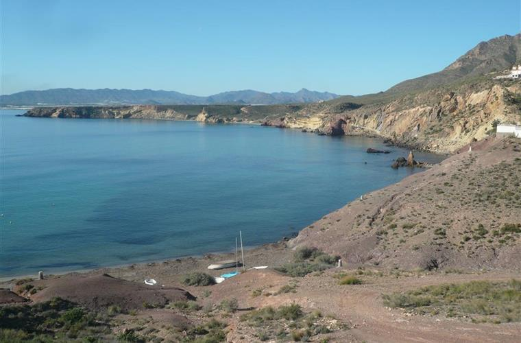 Cove at nearby Bolnuevo