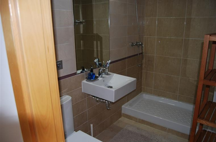 Second bathroom, toilet and shower