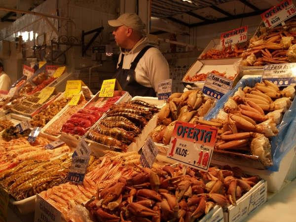 Cadiz is the seafood and fish paradise