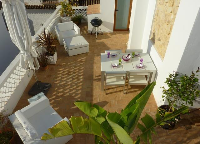 Relax and enjoy the beautiful terrace