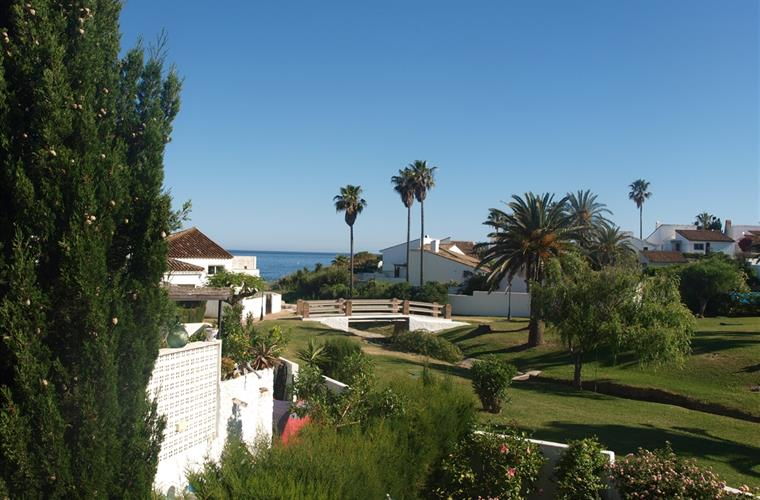 View from the roof terrace to the sea
