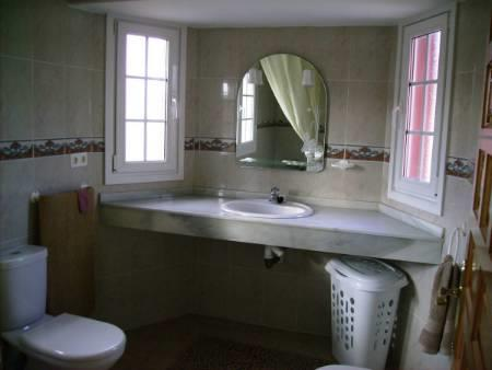 main bathroom upstairs (2nd one downstairs)
