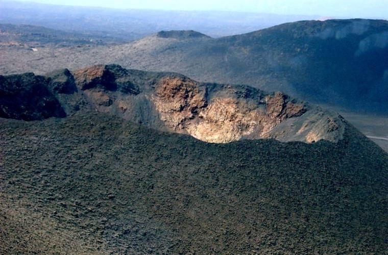 Crater in Timanfaya (South-West)
