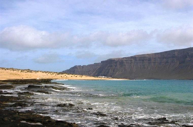 Lanzarote from La Graciosa (North)