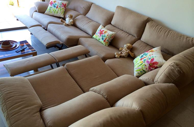 Comfortable electric sofas
