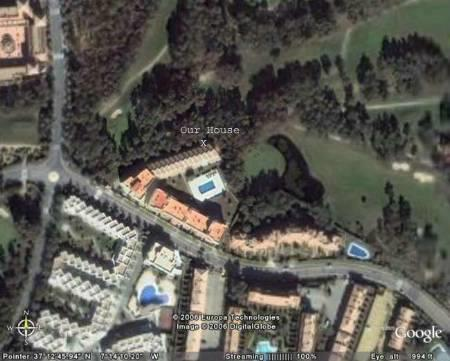 Our house from google earth