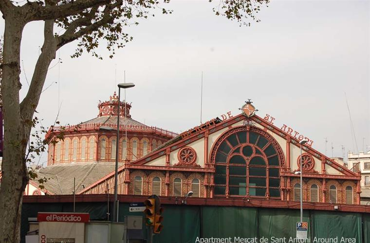 Mercat Sant Antoni Around Area