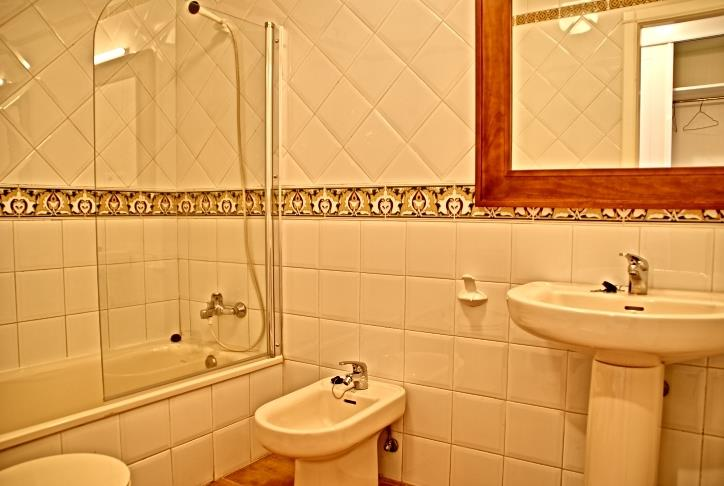One of two bathrooms!