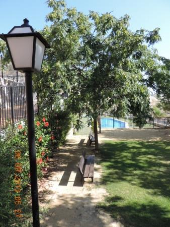 Los Balcones (private gated community) - gardens overlooking pool