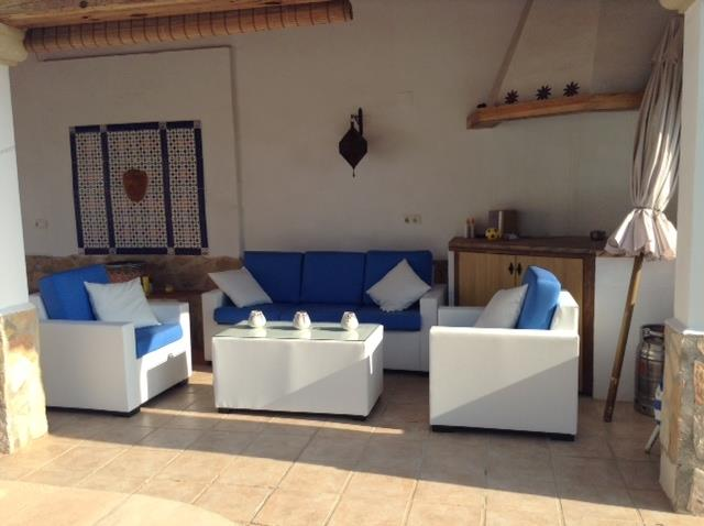 Holiday villa for rent in j vea j vea vacation villa 18716 for Outdoor furniture javea