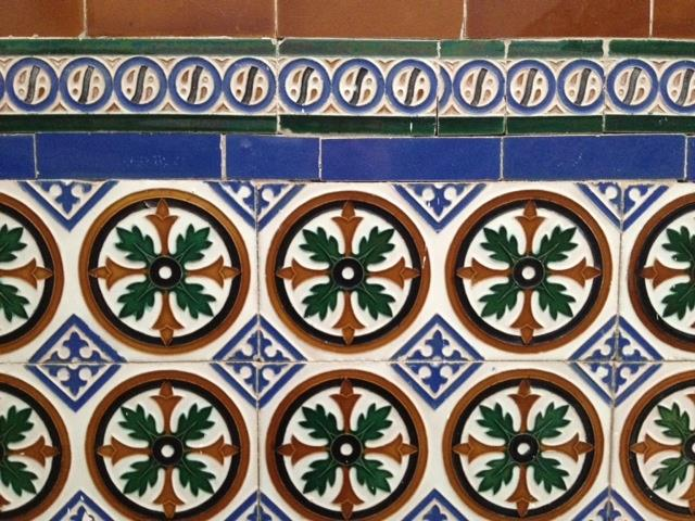 CERAMIC TILES IN OUR ENTRANCE HALL