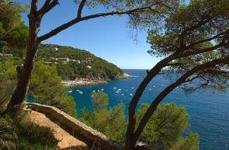 Beautiful walking route from Calella to Llafranc