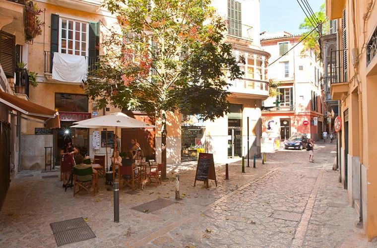 Can Sales Street area: a very good location in Palma