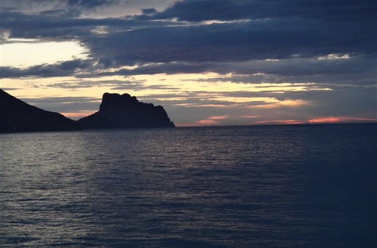 The famous Calpe cliff
