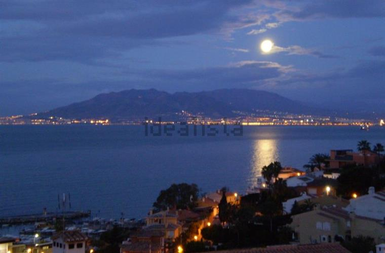 Night  Malaga´s seaviews