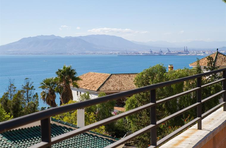 Breathtaking seviews Malaga´s Bay