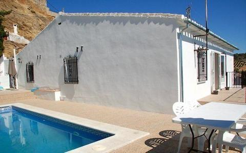 Side of Casa La Laguna, Terraces & Private Swimming Pool