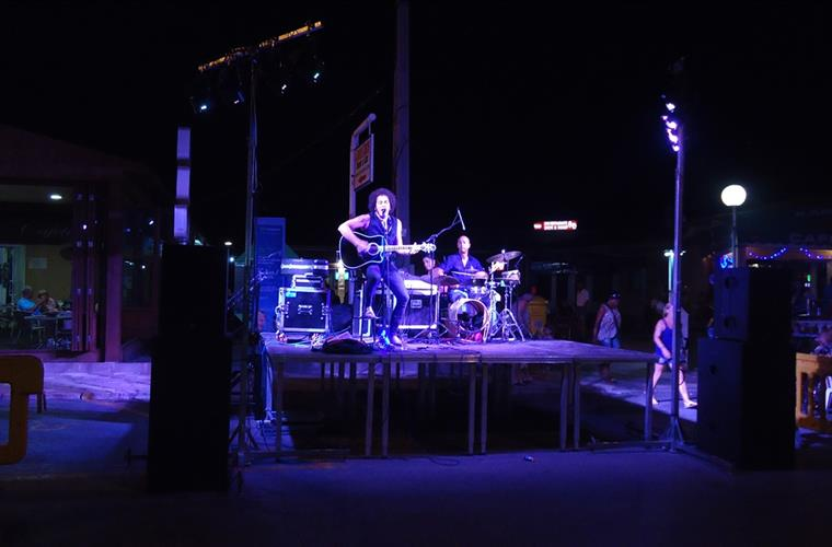 Rock concert in la Marina