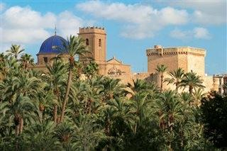 Elche. Declared World Heritage by UNESCO