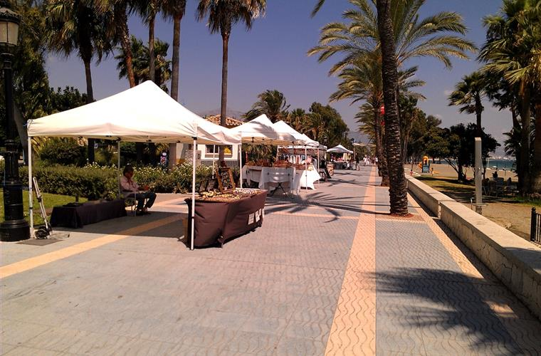 The promenade at San Pedro