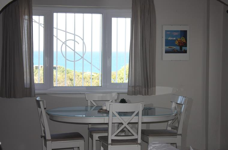Dinning room have a fantastic see view