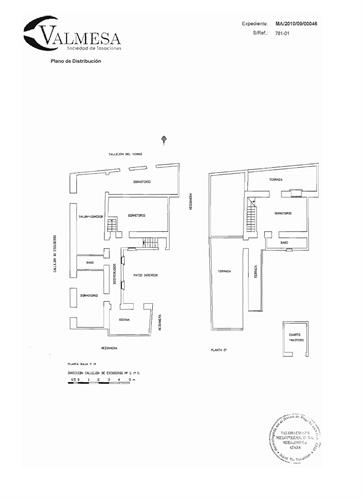 Plans of the house