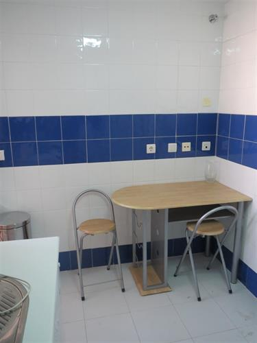 Kitchen with small table & chairs