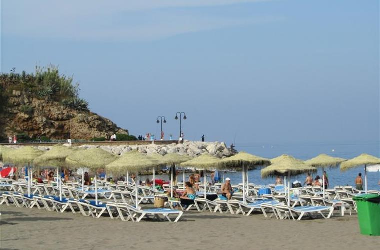 Beach at Torremolinos